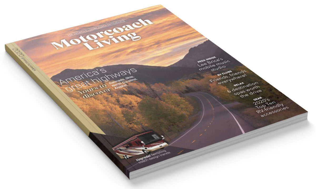 Motorcoach Living Magazine 2019 (Cover)